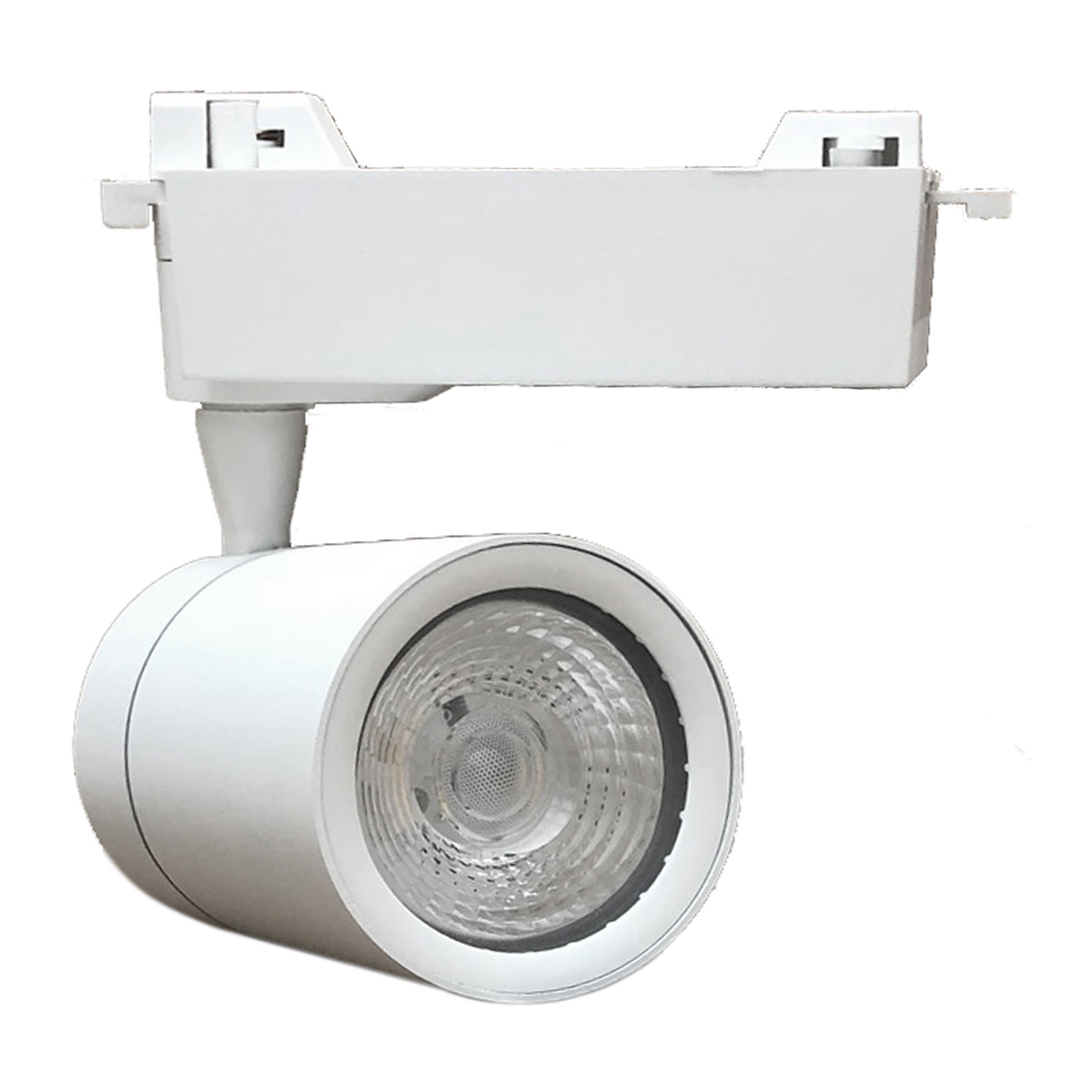 Faretto LED Bianco a binario 30W Monofase faro super compatto COB FB-22-30W